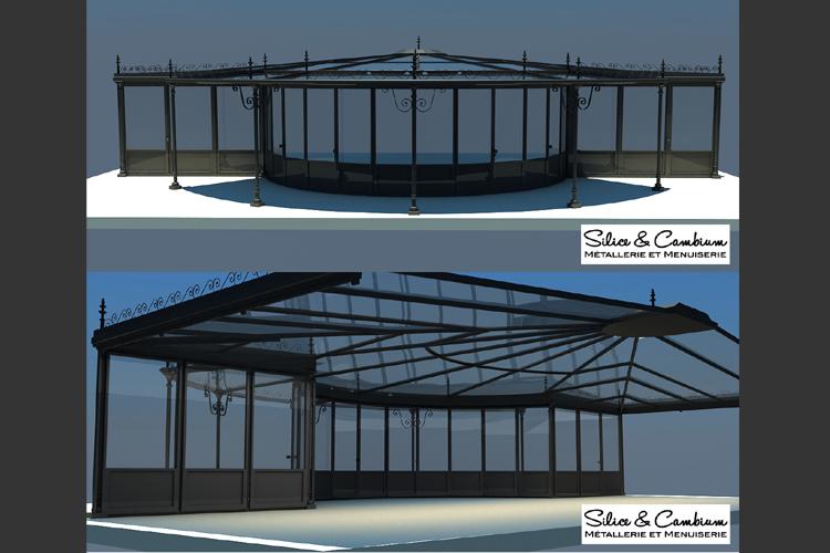 verriere pour piscine veranda hublot et verrire avec vue sur la piscine depuis les chambres. Black Bedroom Furniture Sets. Home Design Ideas