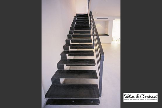 escaliers silice cambium. Black Bedroom Furniture Sets. Home Design Ideas