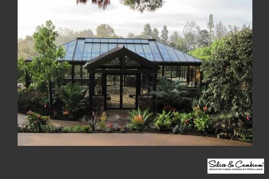Serres orangeries et marquises silice cambium for Jardin orangerie